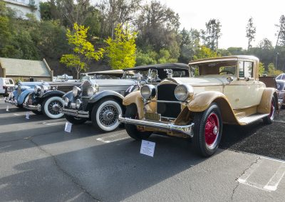 Packards at Greystone Concours