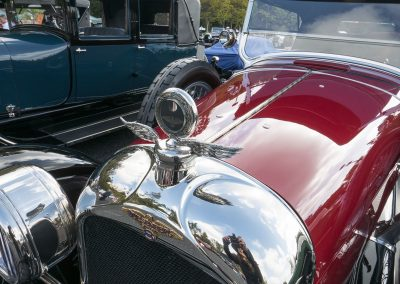 Detail of 1923 Duesenberg Model A Touring