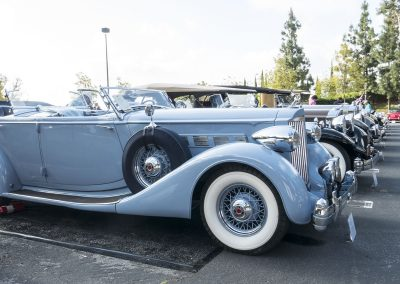 Packard row at Greystone Concours