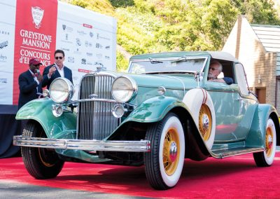 Spirit of Greystone Award 1932 Lincoln KB Roadster