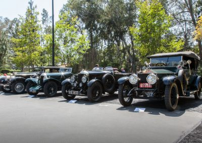 A handsome row of Bentleys and Rolls-Royces