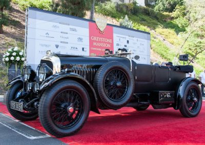 Class winner 1929 Bentley 4.5 liter Tourer by Vanden Plas