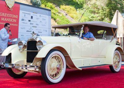 Christofle Elegance Award, 1921 Duesenberg Model A Dual-Cowl Phaeton, Fleetwood
