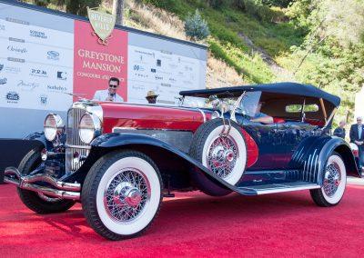 Best of Show, Concours d'Elegance - 1929 Duesenberg J Dual-Cowl Phaeton, LeBaron