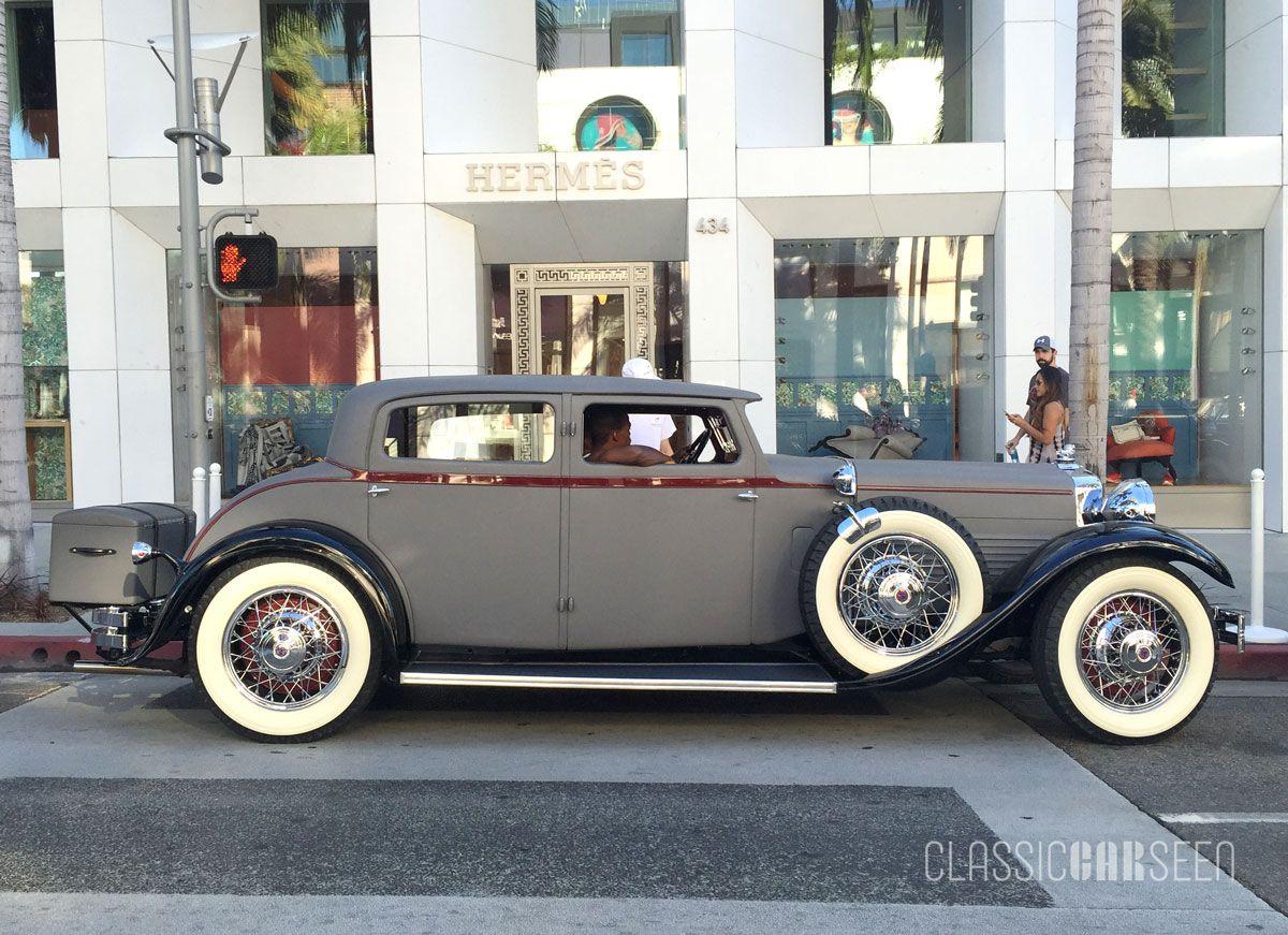 1930 Stutz SV-16 Monte Carlo Sedan, Weymann.