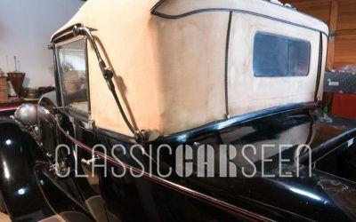 An Original 1926 Lincoln Dietrich Club Roadster
