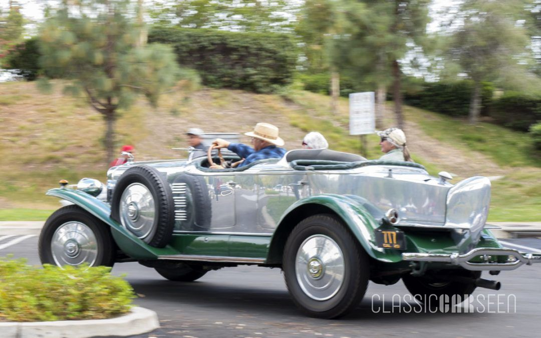 1929 Lincoln L Le Baron Dual Cowl Aero-Phaeton