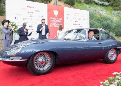 Jaguar Best of Class, 1963 Jaguar E-Type, owned by Lee Wilson and Rory Murphy