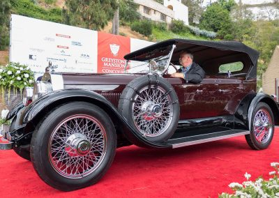 Lincoln Best of Class, 1925 Lincoln L Brunn Dual Cowl Sport Phaeteon, owned by Chris Kidd