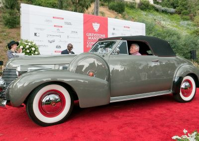 Cadillac Best of Class, 1940 Cadillac Series 62 Convertible Coupe, owned by Brian and Pamela Hermansader