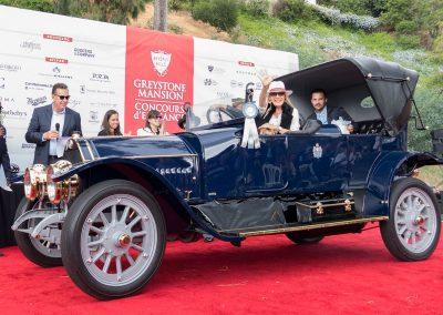 Classics Best of Class, 1911 Mercedes-Benz 5O HP Victoria, owned by Gerhard and Adrienne Schnuerer