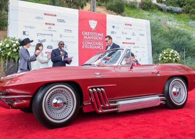 Corvette Best of Class, 1963 Chevrolet Corvette, owned by Mike Vietro