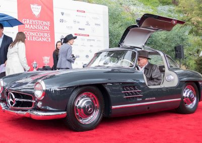 Mercedes-Benz Best of Class, 1954 Mercedes-Benz 300 SL Gullwing, owned by R. Lee Brown