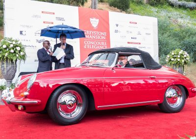 Porsche Best of Class, 1962 Porsche 356, owned by William Tripodi