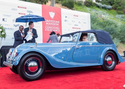 Post-War British Best of Class, 1955 Morgan 4-Passenger Drophead Coupe, owned by Michael Hattem