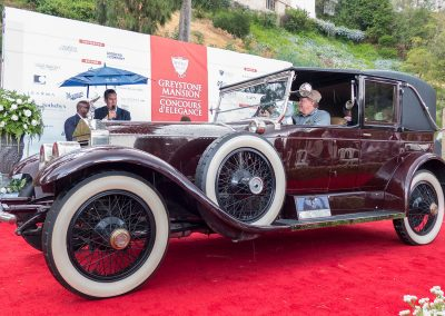 Rolls-Royce Best of Class, 1925 Rolls-Royce Silver Ghost, owned by Ron and Sandy Hansen
