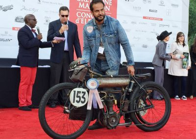 Best Preservation Motorcycle, 1904_Peugeot Type D Racer, owned by  Serge Bueno