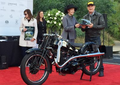 Best Vintage Motorcycle, 1934 Cotton 25J, owned by Eugene Garcin