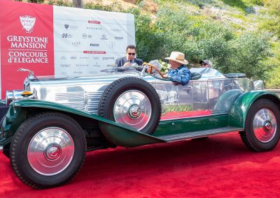 Best of Show Concours d'Elegance, 1929 Lincoln L LeBaron Aero-Phaeton, owned by Stan Lucas