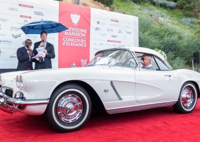 Corvette Mike Award, 1962 Chevrolet Corvette, owned by Buddy Pepp