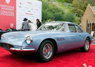 Director's Choice Award, 1965 Ferrari 500 Superfast, owned by William Heinecke