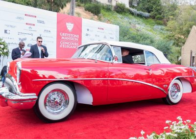 Friends of Greystone Outstanding Restoration Award, 1954 Buick Skylark, owned by Roland Scott