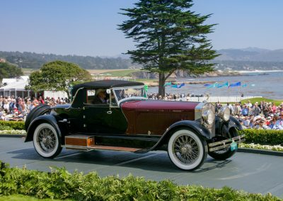 2nd Place: 1928 Isotta Fraschini Tip 8A SS LeBaron Cabriolet, Peter T. Boyle