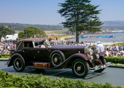 3rd Place: 1931 Isotta Fraschini Tipo 8B Viggo Jensen Cabriolet, The Keller Collection at the Pyramids