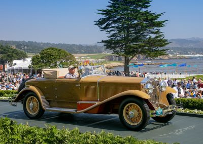 2nd Place: 1932 Isotta Fraschini Tipo 8A SS Castagna Commodore, Blake and Lauren Atwell