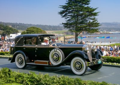 2nd Place: 1929 Isotta Fraschini Tipo 8A Castagna Imperial Cabriolet, Paul & Joyce Toberty