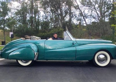 National Automotive Heritage Award, 1948 Lincoln Continental by Coachcraft, owned by Peterson Automotive Museum