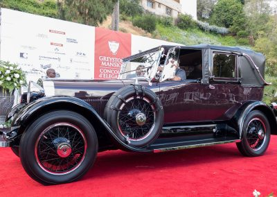 Spirit of Greystone Award, 1926 Lincoln L Dietrich Cabriolet, owned by Thomas and Robert Russell