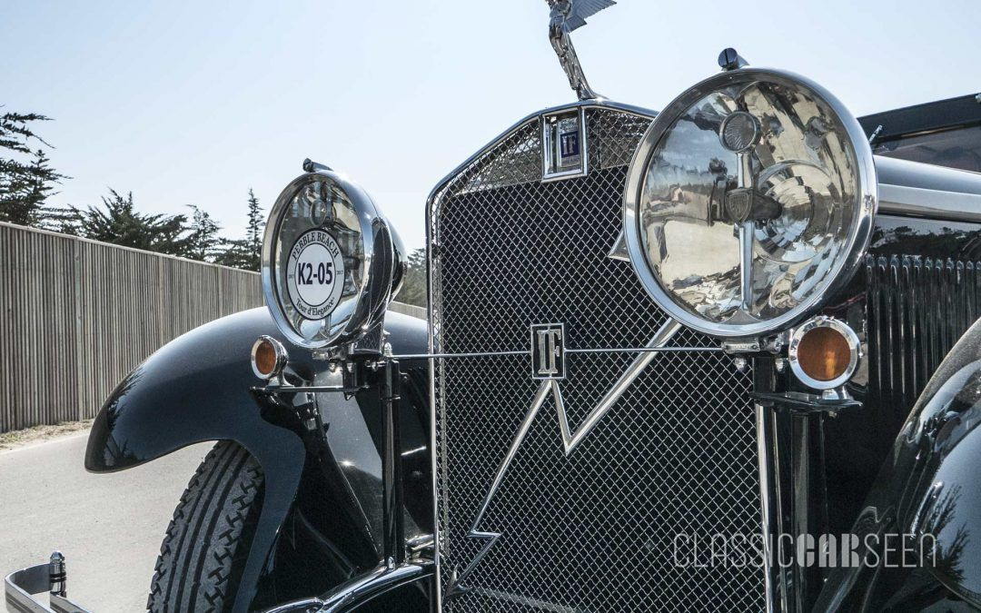 A Look Back: Isotta Fraschini at the 2017 Pebble Beach Concours d'Elegance