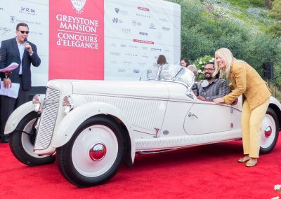 Mayor's Choice Award, 1935 Adler Trumpf Junior Sports Roadster, owned by Alexandra Geremia