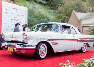 Meguiars Outstanding Paint Award, 1957 Pontiac Bonneville, owned by Kip Cyprus