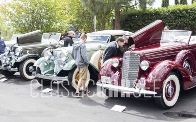 100 Years of Lincoln: The 2017 Lincoln Class at Greystone Mansion Concours