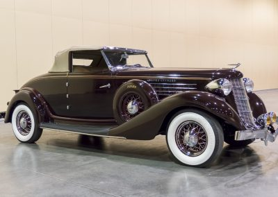 1936 Auburn 852 SC Cabriolet