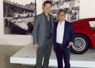Derek Hill with Brandon Adrian of Classic Car Capital